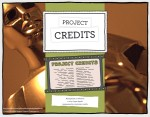 project credits front frame