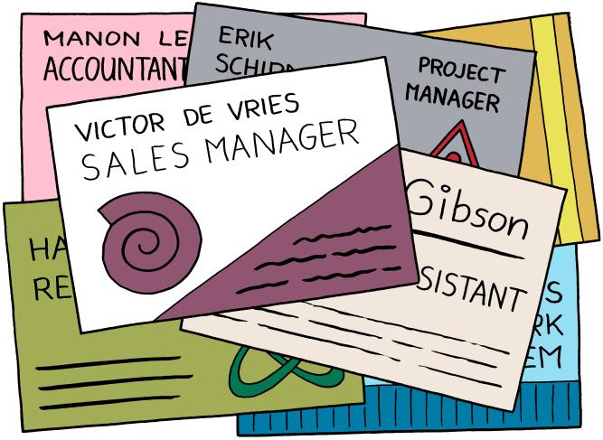 job titles color
