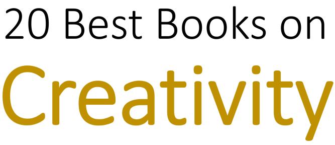best-creativity-books