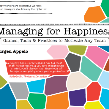 Managing for Happiness cover (front)