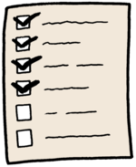 Checklist color