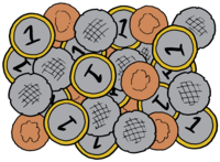 Coins color
